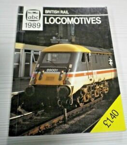 BRITISH RAIL LOCOMOTIVES 1989 Ian Allan abc