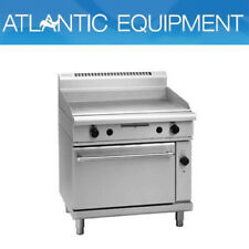 Waldorf GP8910GEC 900mm Gas Griddle - Electric Convection Oven Range