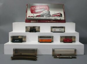 American Flyer 30405 Ind. Switcher Freight Set: 31013 w/33523, 33525 & B&O 3/Box