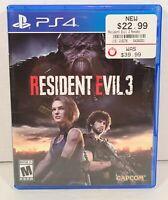 Resident Evil 3 -- Standard Edition (Sony PlayStation 4, 2020)