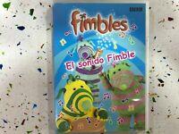 Fimbles DVD Il Suono De Fimble Spagnolo Inglese