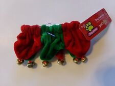 HOLIDAY JINGLE BELLS  FOR YOUR DOG. NEW WITH TAG.