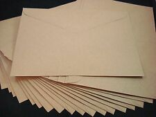 25 C5 Kraft Recycled Envelopes Brown Natural Cardmaking Card Postage