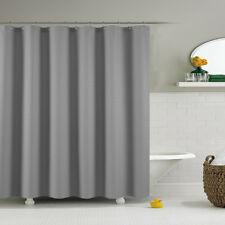 AOACreations Shower Curtain with Hooks for Bathroom Plaid Designs