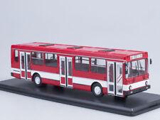 Scale model 1/43 Likinsky bus 5256 city (red / white)