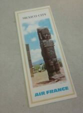 1967 Air France Airlines ''Mexico City'' Travel Brochure