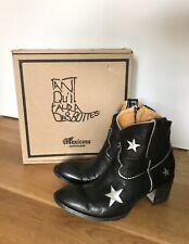 Mexicana Boots , schwarz, Sterne! Gr.39 kaum getragen
