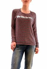 Sundry Women's Delicieux Open Side Striped Sweater Cherry US 1 RRP $121 BCF73