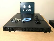 CISCO ISR4431/K9 4-Port GIGABIT ISR 4000 Integrated Router ISR4431 AC PWR ios-16
