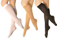 3 Pairs Women's hosiery Thick 70 denier Stretchy Opaque Knee High Trouser Socks
