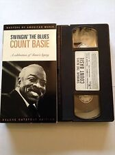 Count Basie Swinging The Blues  - Jazz Music VHS Video RARE!!!