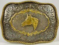 Horse Head Vintage Belt Buckle