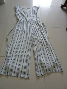 Katies wide leg jumpsuit summer fully lined new size 16