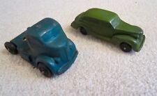 Original 1940s AUBURN Rubber Vehicles Truck & Sedan ~ Lionel, Flyer, Marx Train