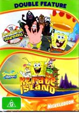 SpongeBob Squarepants Double Feature DVD The Movie + Karate Island R4