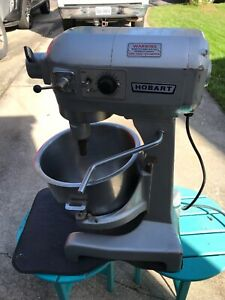 Hobart 1/2 HP Model A-200T Mixer With Attachments