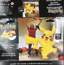 Pokemon Life Size for Kids Pikachu Jumbo Foil Balloon Air walker 52