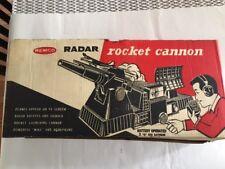 VINTAGE 1965 REMCO RADAR ROCKET CANNON ORIGINAL BOX #109