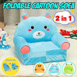 Cute Cartoon Children Reading Seat Lazy Kids Flip Open Sofa Furniture Couch +##