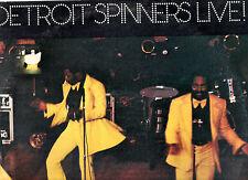 """""""SOUL"""".DETROIT SPINNERS.LIVE.ORIG UK 2 LP's + INN/SL's.EX+/EX"""