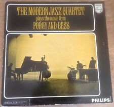 THE MODERN JAZZ QUARTET plays the music from porgy and bess DUTCH PHILIPS STEREO