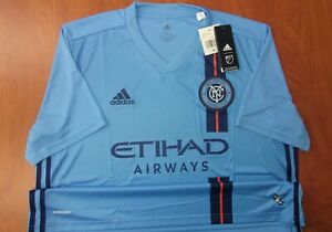 Adidas MLS NYCFC New York City FC AeroReady Performance Soccer Jersey XL ~NWT~