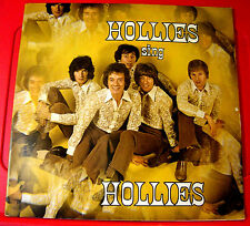 The Hollies Sing Hollies LP G/F Reino Unido orig 1970 Parlophone Vinilo Negro/Amarillo 1st