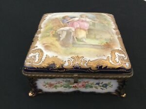 Exellent sevres porcelain & Bronze Box