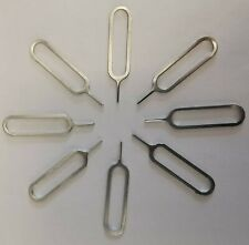 10 x Universal Sim Pin - Sim Card Tray Opening Tool: iPhone, iPad, Samsung