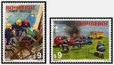 Timbres Pompiers Uruguay 1932/3 ** année 2000 (37692)