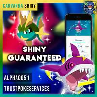 Pokemon Go Shiny Carvanha SHINY Catch Guaranteed !