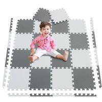 20Pc Large Grey White Foam mat Matting Kids Garden Fitness Nursery Mats Playmat