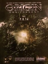 Origin, Omnipresent, Full Page Promotional Ad