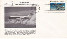 8 JUNE 1976 SPACE SHUTTLE TRAINING AIRCRAFT ARRIVES COVER HUSTON CANCEL