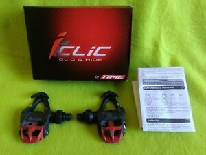 ICLIC CARBO FLEX TIME pedales AUTOMÁTICOS CARBON clipless road pedals ciclismo
