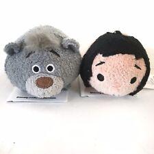 "Disney Tsum Tsum The Jungle Book Baloo & Mowgli 3.5"" Plush Mini"