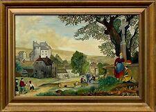 Akademische Malerei Deutscher Maler Thomas  ca. 1900-1980 xx Naive  Kunst   xxx