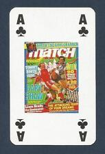 MATCH MAGAZINE-20 YEAR ANNIVERSARY COVER PLAYING CARD-ENGLAND V WALES-AC