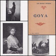 HENRI GUERLIN  GOYA  (AVEC 24 REPRODUCTIONS HT)