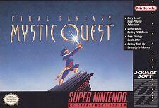 Final Fantasy: Mystic Quest, (SNES)