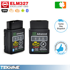 Car Fault Scanner Engine Reader Diagnostic Tool Bluetooth OBD2 OBDII ELM327