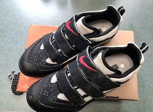 Cycling Shoes Nike Kato III 264943 Womens Sz 8.5/40 Anthracite/Silver Vtg MTB