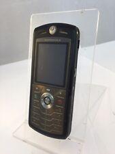 Incompleta Motorola L7 Negro desbloqueado teléfono móvil de red