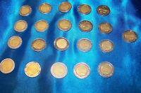 Mexico Bimetallic Un Peso Coin Set 1992-2012  Mexico Bimetallic 1 peso Coin Set