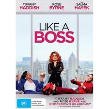 Like A Boss (DVD,2020)Brand New  & Sealed - Region  4