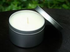 Lg 40hr POISON Perfume Scented Travel & Hiking Candle Tin SOY WAX Gardeners Gift