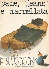 X0996 BUGGY - Original american fabric - Pubblicità del 1976 - Vintage advertis.