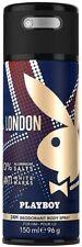 Playboy London (anti white marks) by Playboy Deodorant Body Spray men 5.0 / 5 oz
