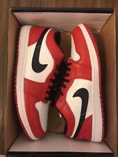 Nike Air Jordan I Retro 1 Chicago PHAT LOW OG BRED BLACK RED WHITE DS 11