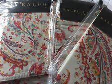 Ralph Lauren Montecito Calista Turquesa Paisley duvet cover set Rey